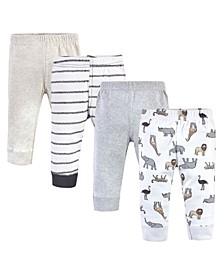 Boys and Girls Cotton Pants and Leggings Set
