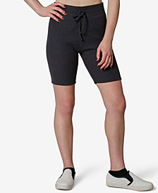 Juniors' Hacci Ribbed Bike Shorts