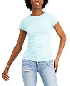 Juniors' Cap-Sleeve T-Shirt