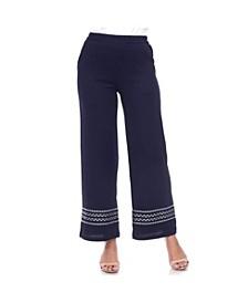 Women's Wide Leg Pant