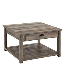 """30"""" Square Country Coffee Table"""