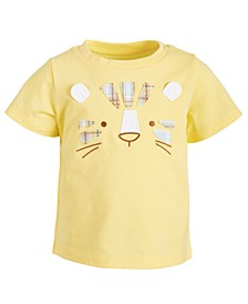 Baby Boys Tiger Face Cotton T-Shirt, Created for Macy's