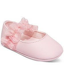 Baby Girls Tulle Ballet Flats, Created for Macy's