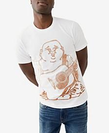 Men's Oversized Buddha Crewneck Tee
