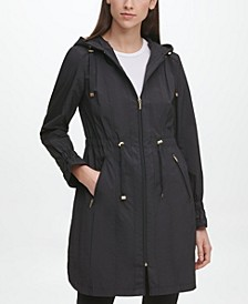 Hooded Anorak Raincoat