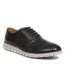 Men's Benton Classic Dress Casual Lace-Up Brogue Shoes
