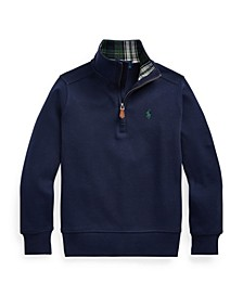Toddler Boys Quarter-Zip Pullover
