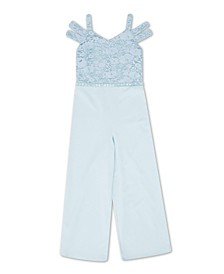 Big Girl Floral Jumpsuit