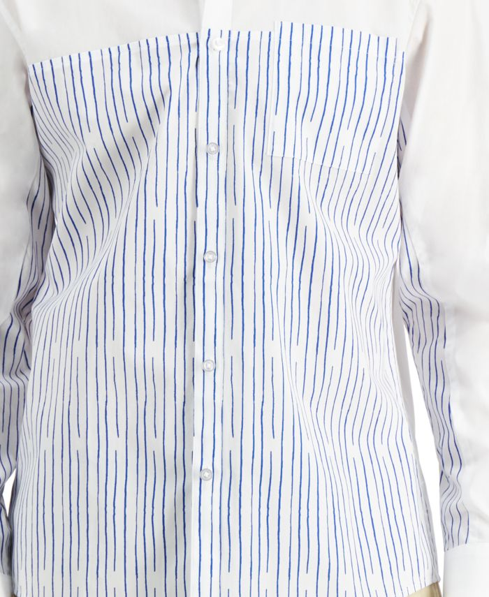 INC International Concepts INC Men's Blocked Striped Shirt, Created for Macy's & Reviews - Casual Button-Down Shirts - Men - Macy's