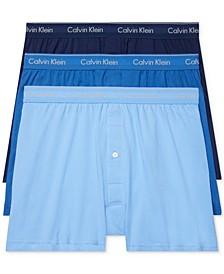 Men's 3-Pack Cotton Classics Knit Boxers