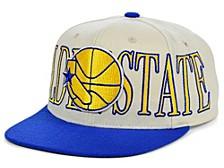 Golden State Warriors Hardwood Classic Winners Circle Snapback Cap