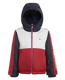 Big Boys Darby Colorblock Puffer Jacket