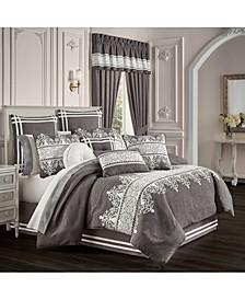 Flint Comforter Set of 4 Piece, Queen