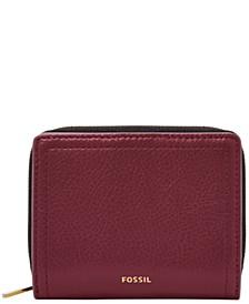 Logan Leather Mini Multifunction Wallet