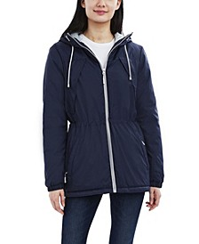 Halifax Hooded Water-Resistant Cloud Anorak Coat