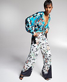 Misa Hylton for INC Satin Pants, In Regular & Extended Sizes, Created for Macy's