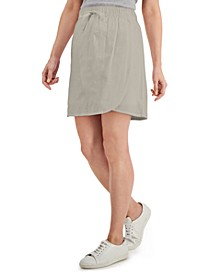Solid Pull-On Asymmetrical Skort, Created for Macy's
