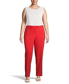 Plus Size Bowie Tab-Waist Pants