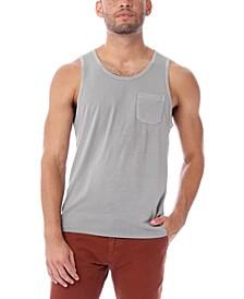 Men's Heritage Garment Dyed Cotton Pocket Tank