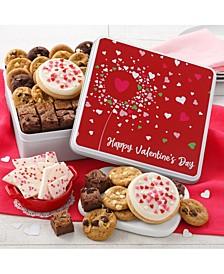 Happy Valentine's Day Combo Cookie Tin