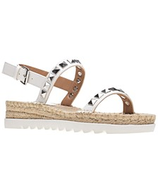 Yelenah Studded Espadrille Sandals, Created for Macy's