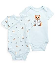 Ralph Lauren Baby Boys Polo Bear Bodysuit 2-Piece Set