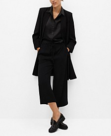 Women's Bow Culottes Pants