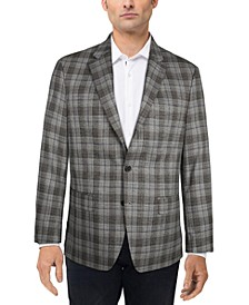 Men's UltraFlex Plaid Sport Coat