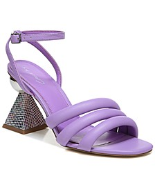 Women's Bobbie Architectural-Heel Dress Sandals