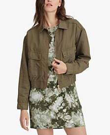 Peyton Cropped Cotton Jacket
