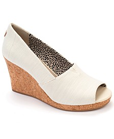 Michelle Cork Wedge Sandals