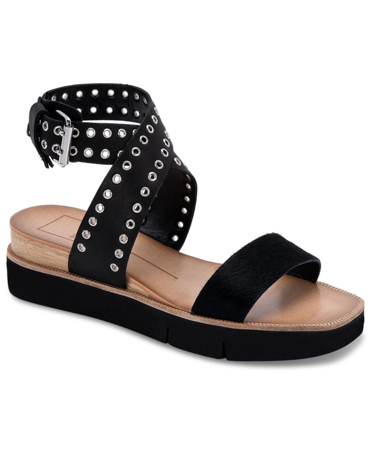Dolce Vita Panko Grommet Wedge Sandals Women's Shoes
