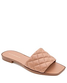 Women's Laila Quilted Slide Sandal
