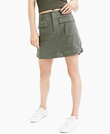 Denim Cargo Skirt, Created for Macy's