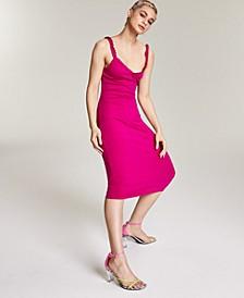 Ribbed Midi Dress, Created for Macy's