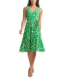 Windblown Daisy Midi Dress