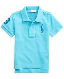 Ralph Lauren Baby Boys Classic Fit Cotton Mesh Polo