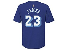 Youth Los Angeles Lakers Hardwood Classic Player T-Shirt Lebron James