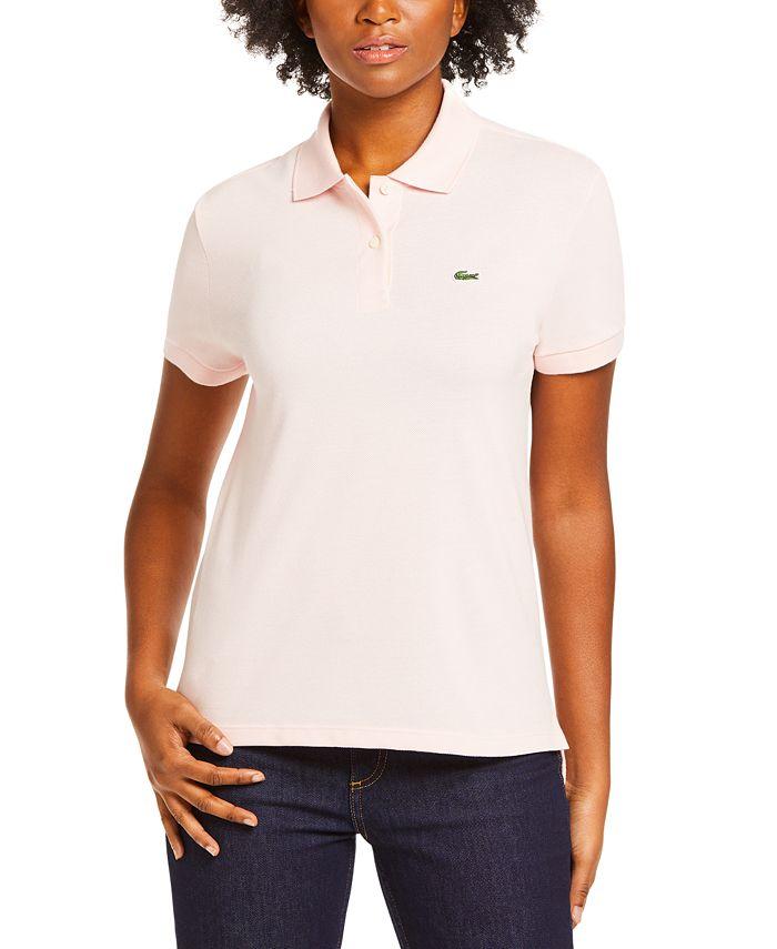 Lacoste - Short-Sleeve Two-Button Logo Polo Shirt
