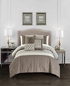 Imani 6 Piece Comforter Set, King