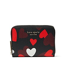 Spencer Celebration Hearts Zip Cardholder