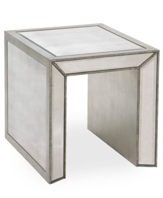 Sophia Mirrored End Table
