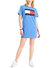 Logo Tee Knit Dress