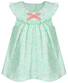 Baby Girls Ruffle Daisy Cotton Sunsuit, Created for Macy's