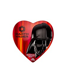 Darth Vader Heart Tin with Chocolate Caramel Filled Chocolate Hearts