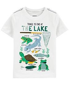Toddler Boys Things To Do At The Lake Slub Jersey Tee