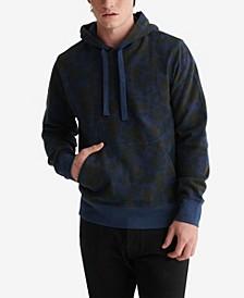 Men's Camo Sueded Terry Hooded Sweatshirt