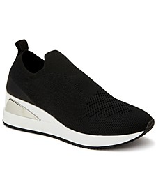 Women's Websterr Knit Wedge Sneakers, Created for Macy's