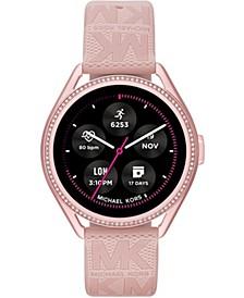 Access Gen 5e MKGO Blush Rubber Smartwatch 43mm