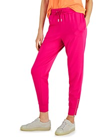 Tailored Pull-On Jogger Pants, Created for Macy's